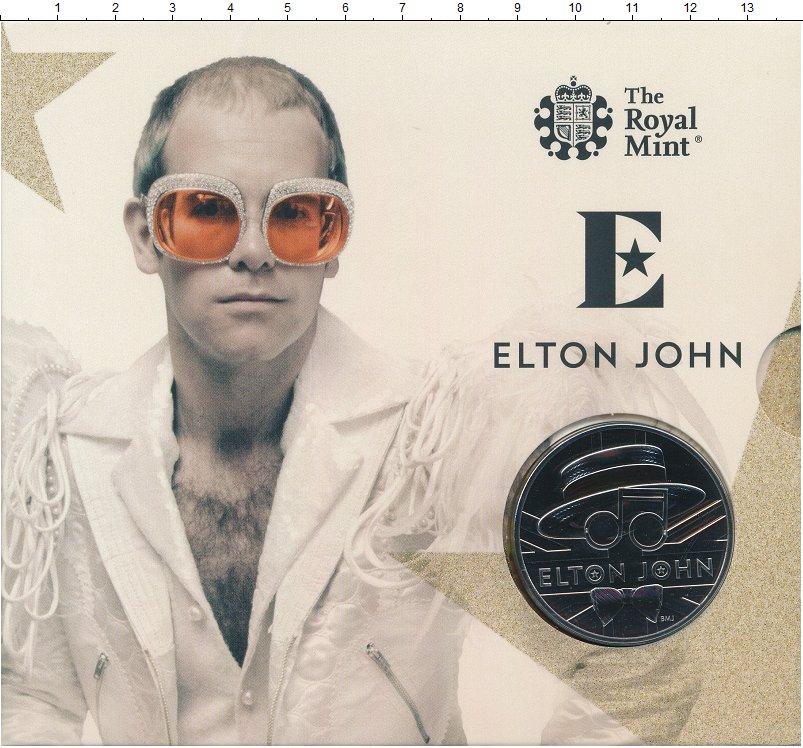 Изображение Подарочные монеты Великобритания 5 фунтов 2020 Медно-никель UNC Монета Великобритани