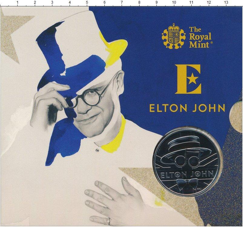 Изображение Подарочные монеты Великобритания 5 фунтов 2020 Медно-никель UNC Елизавета II. Монета