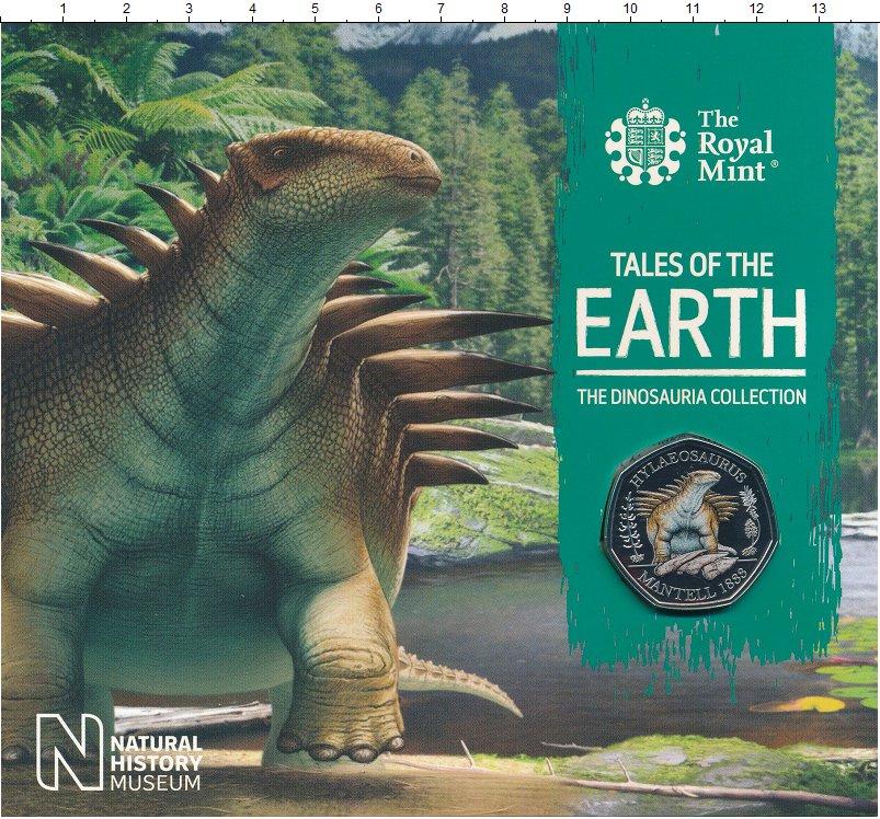 Изображение Подарочные монеты Великобритания 50 пенсов 2020 Медно-никель UNC Елизавета II. Цифров