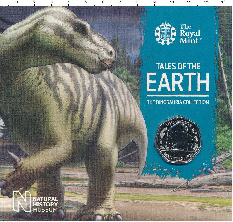 Изображение Подарочные монеты Великобритания 50 пенсов 2020 Медно-никель UNC Очередная монета из