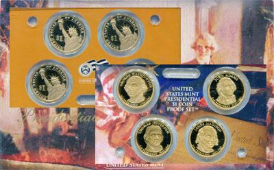 Изображение Подарочные наборы США Президенты США 2007  Proof Набор посвящен прези
