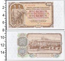 Изображение Боны Чехословакия 100 крон 1953