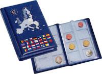 Изображение Аксессуары для монет Альбомы карманные Карманный альбом для евронаборов Numis Poket Euro 0