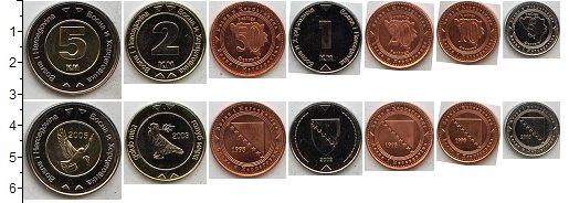 Изображение Наборы монет Босния и Герцеговина Босния и Герцеговина  2007-2013 2007  UNC