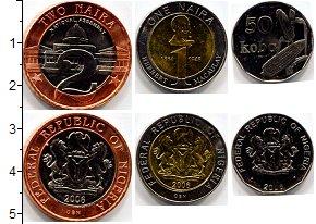 Изображение Наборы монет Нигерия Нигерия 2006 2006  AUNC