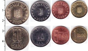 Изображение Наборы монет Румыния Румыния 2014 2014  UNC В наборе 4 монеты но