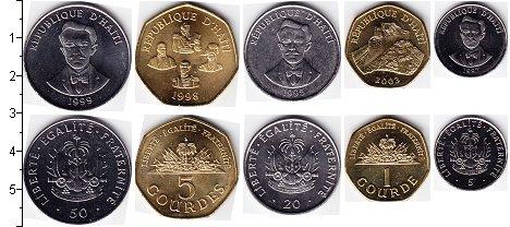 Изображение Наборы монет Гаити Гаити 1995-2011 1995  UNC-