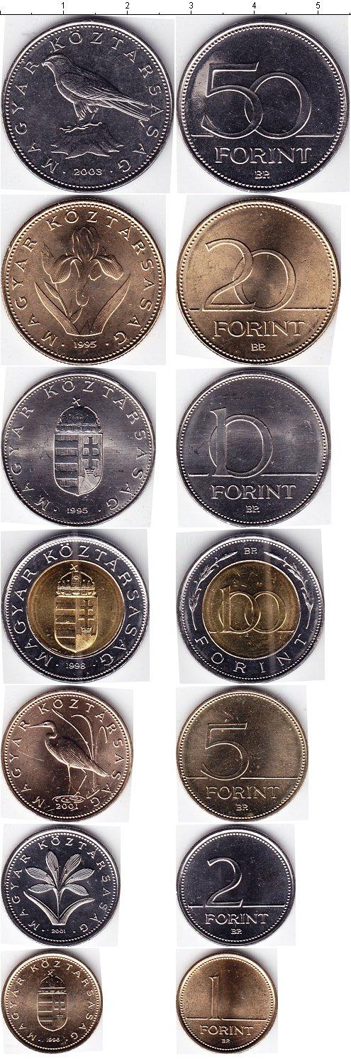 Картинка Наборы монет Венгрия Венгрия 1995-2003  0