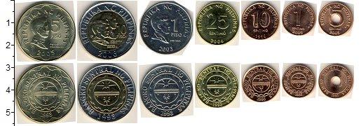Изображение Наборы монет Филиппины Филиппины 2005-2010 2010  UNC В наборе 7 монет ном