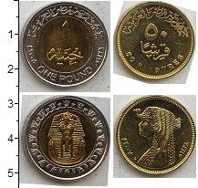 Изображение Наборы монет Египет Египет 2010 0  UNC- В наборе 2 монеты но