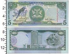 Изображение Банкноты Тринидад и Тобаго 5 долларов 2006  UNC