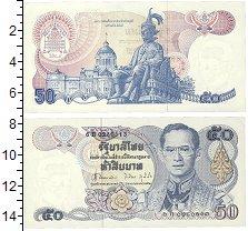 Изображение Банкноты Таиланд 50 бат 1985  UNC