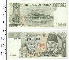Изображение Боны Южная Корея 10000 вон 2000  UNC
