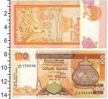 Изображение Банкноты Шри-Ланка 100 рупий 1991  UNC