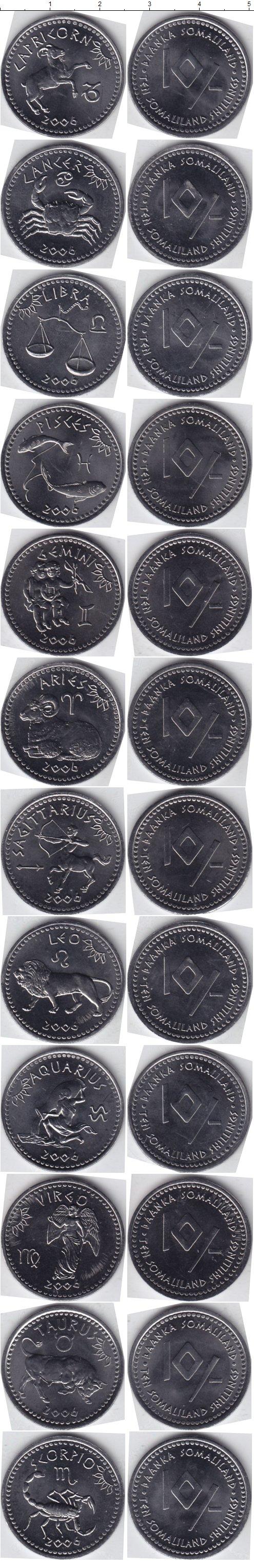 Картинка Наборы монет Сомали Сомали 2006 Медно-никель 2006