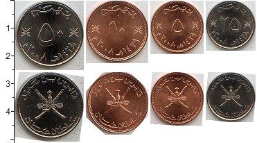 Изображение Наборы монет Оман Оман 1984-1999 0  AUNC В наборе 4 монет ном