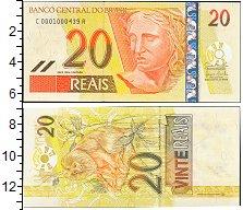 Изображение Боны Бразилия 20 реал 2002  UNC