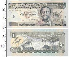 Изображение Банкноты Эфиопия 1 бирр 2006  UNC