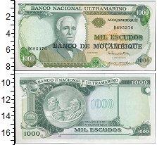 Изображение Банкноты Мозамбик 1000 эскудо 1972  UNC
