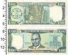 Изображение Боны Либерия 100 долларов 2006  UNC