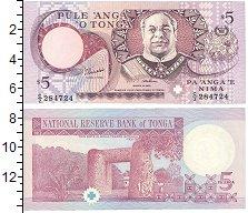 Изображение Банкноты Тонга 5 панга 1994  UNC