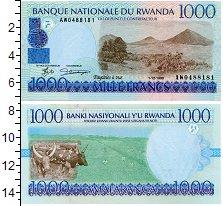 Изображение Банкноты Руанда 1000 франков 1998  UNC