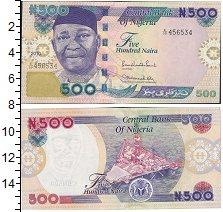 Изображение Банкноты Нигерия 500 найр 2015  UNC