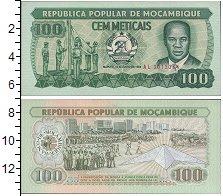 Изображение Боны Мозамбик 100 метикал 1983  UNC