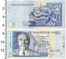 Изображение Банкноты Маврикий 50 рупий 2003  UNC