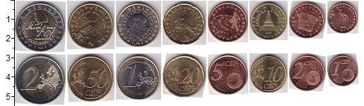 Набор монет Словения Словения 2007 UNC-