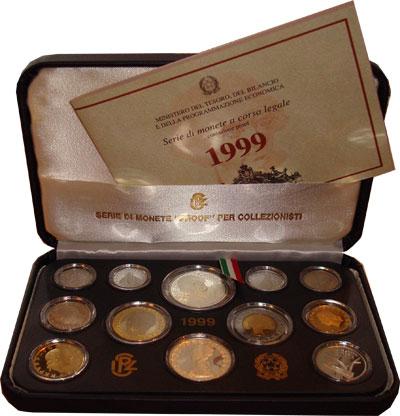 Изображение Подарочные наборы Италия Витторио Альфиери 1999  Proof Данный набор посвяще