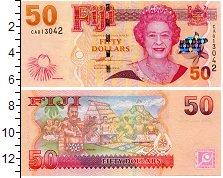 Изображение Боны Фиджи 50 долларов 0  UNC