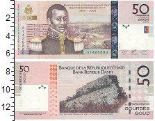 Изображение Банкноты Гаити 50 гурдес 2004  UNC