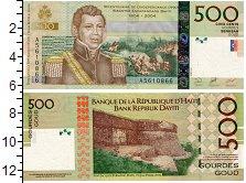 Изображение Банкноты Гаити 500 гурдес 2004  UNC