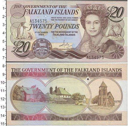 Картинка Боны Фолклендские острова 20 фунтов  2011