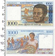 Изображение Банкноты Мадагаскар 1000 франков 1994  UNC