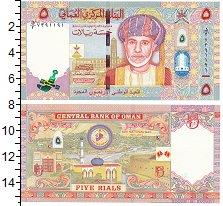 Изображение Банкноты Оман 5 риалов 2010  UNC