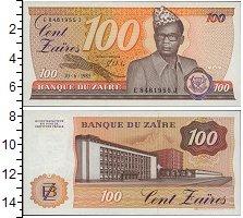 Изображение Банкноты Заир 100 заир 1985  UNC