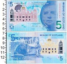 Изображение Банкноты Великобритания Шотландия 5 фунтов 2016  UNC