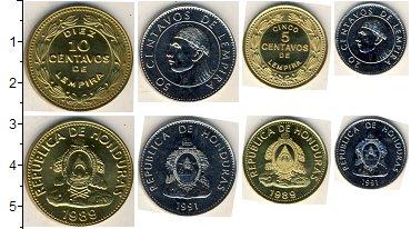 Изображение Наборы монет Гондурас Гондурас 2010-2012 2010  UNC- В наборе 4 монеты но