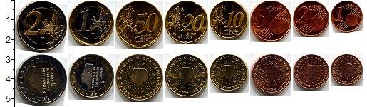 Изображение Наборы монет Нидерланды Нидерланды 2009-2012 2009  UNC- В наборе 8 монет ном