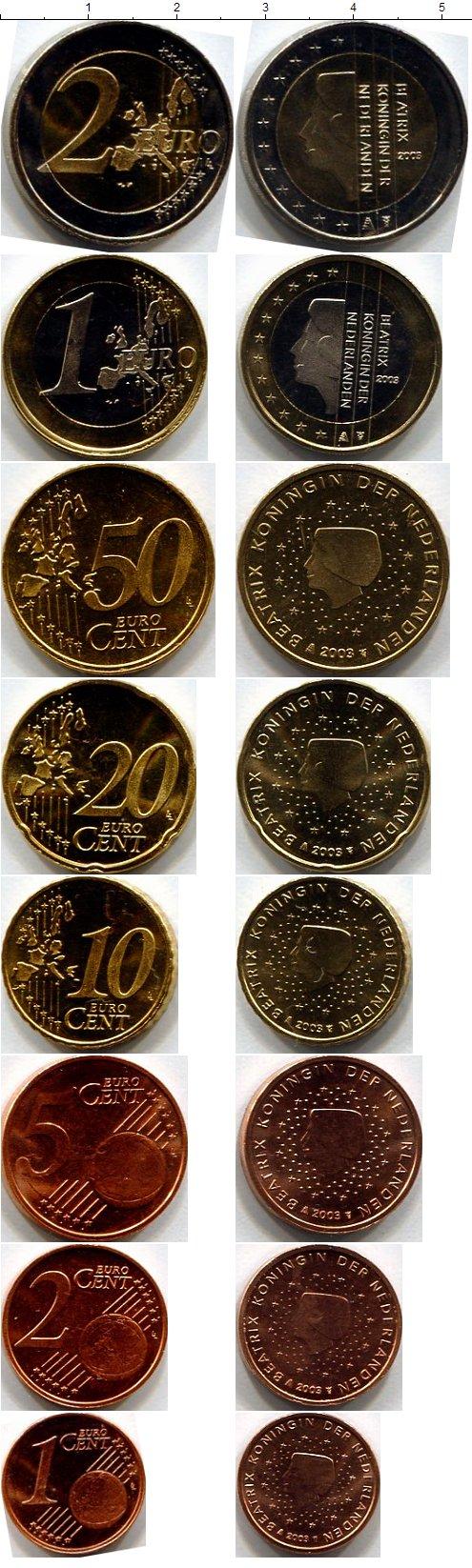 Картинка Подарочные монеты Нидерланды Нидерланды 2002  2002