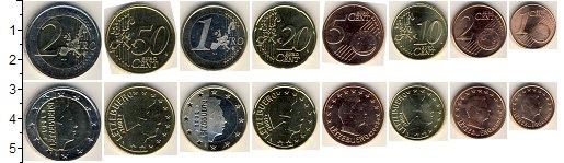 Изображение Наборы монет Люксембург Люксембург 2007-2010 0  UNC В наборе 8 монет ном