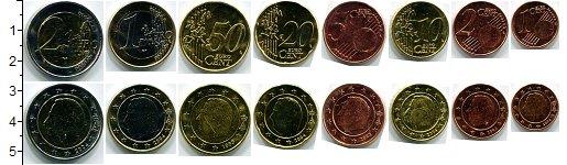 Изображение Наборы монет Бельгия Бельгия 2004-2012 0  UNC- В наборе 8 монет ном