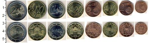 Изображение Наборы монет Австрия Австрия 2011-2014 0  UNC- В наборе 8 монет ном