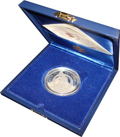 Изображение Подарочные монеты Ватикан Павел II 2002 Серебро Proof