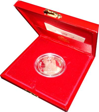 Изображение Подарочные наборы Ватикан Павел II 2001 Серебро Proof