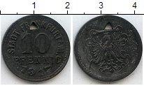 Изображение Монеты Нотгельды 10 пфеннигов 1917 Цинк  Франкфурт на Майне