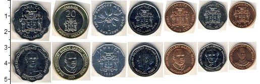 Изображение Наборы монет Ямайка Ямайка 1991-2008 0  UNC- В наборе 7 монет ном