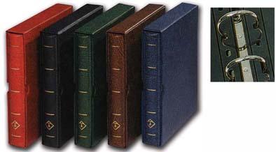 Картинка Аксессуары для монет Optima Альбом для монет Optima F без листов в футляре  0